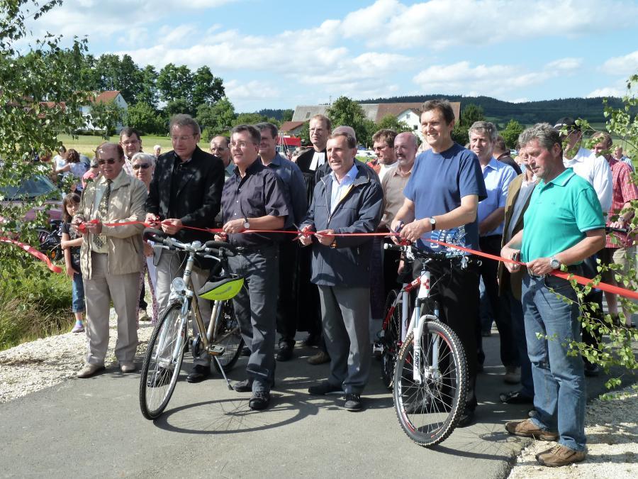 Eröffnung Radweg 2011