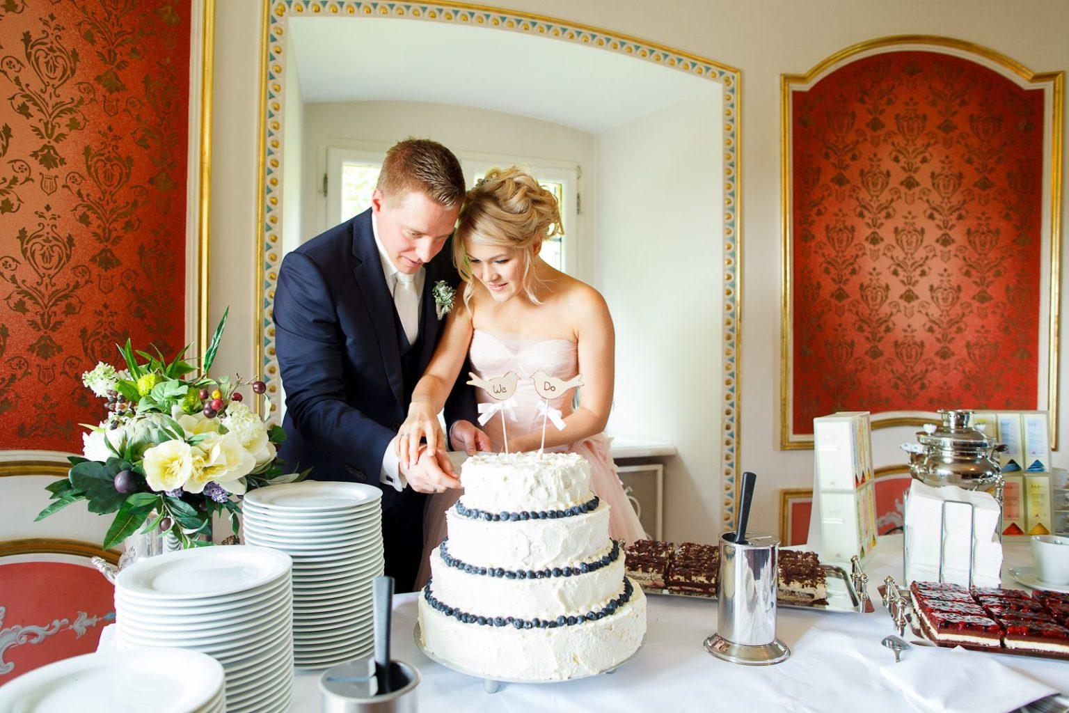 Hochzeit_Burg Rabenstein_Hochzeitstorte